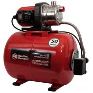 Насосная станция QUATTRO ELEMENTI Automatico 1000 Inox 50L (1000 Вт, 3600 л/ч, для чистой, 45 м, 16.кг)  ресивер 50 литров
